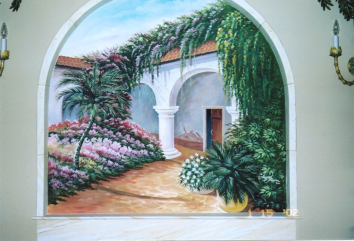 tommy simpson the artist galleries page call 843 997 7307 wall mural in a residence hall