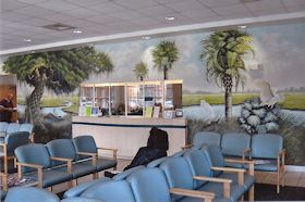 Mural in Cancer Center Waiting Room, Myrtle Beach, SC
