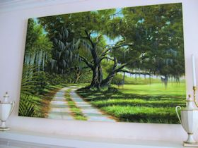 Acrylic Painting of Landscape