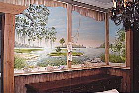 Wall Mural in Side Kitchen, Myrtle Beach, SC