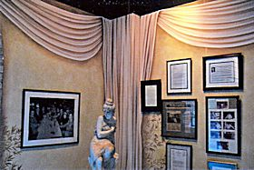 Painted Drapery and Faux in Rossi's Italian Restaurant, Myrtle Beach, SC
