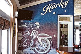 Painted Wall Mural (Man Cave), Myrtle Beach, SC