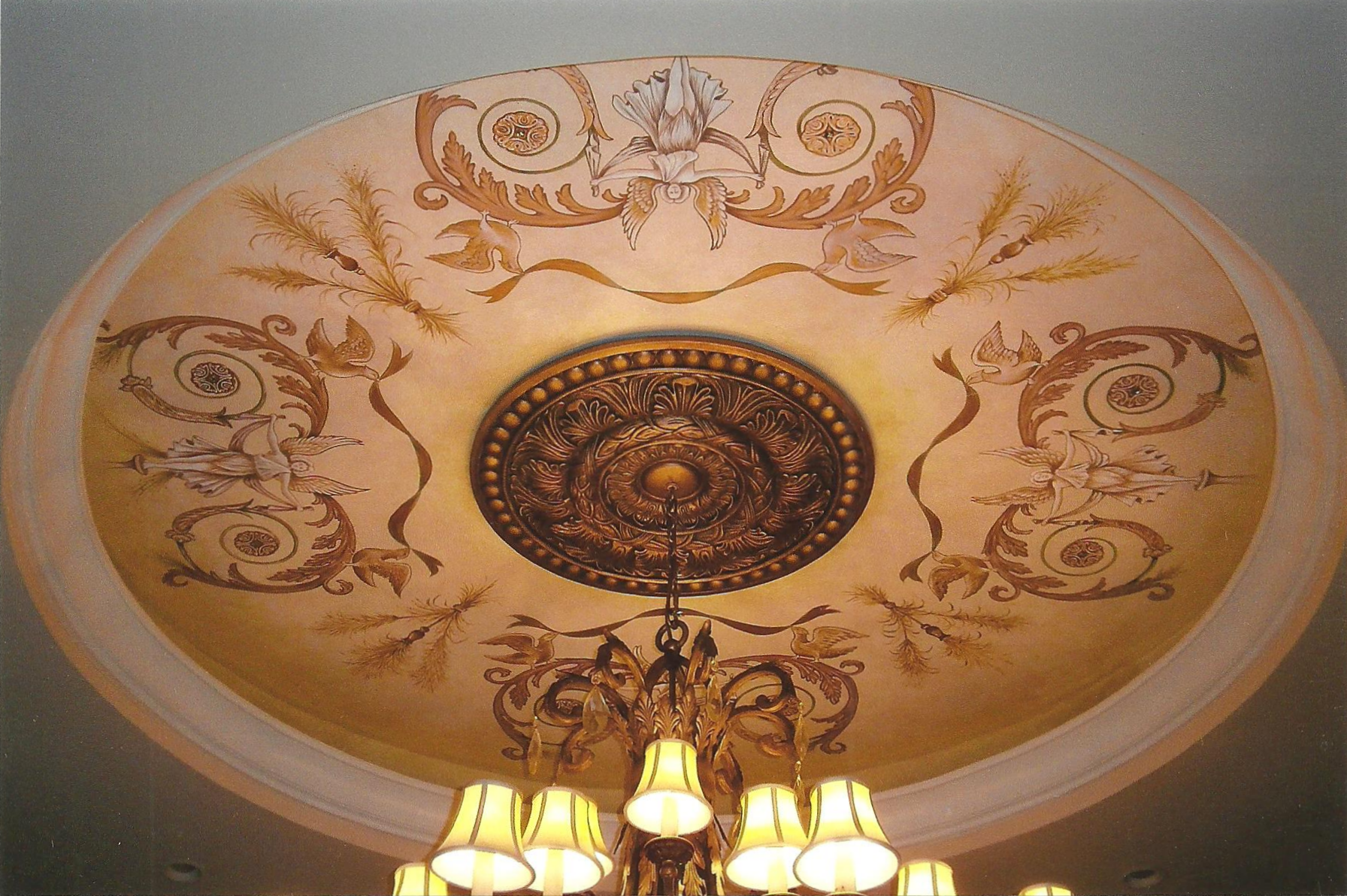Painted Ceiling in Grande Dunes Residence, Myrtle Beach, South Carolina