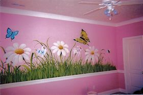 Child's Room Mural View 2