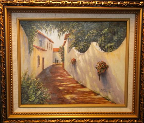 European Walkway Painting