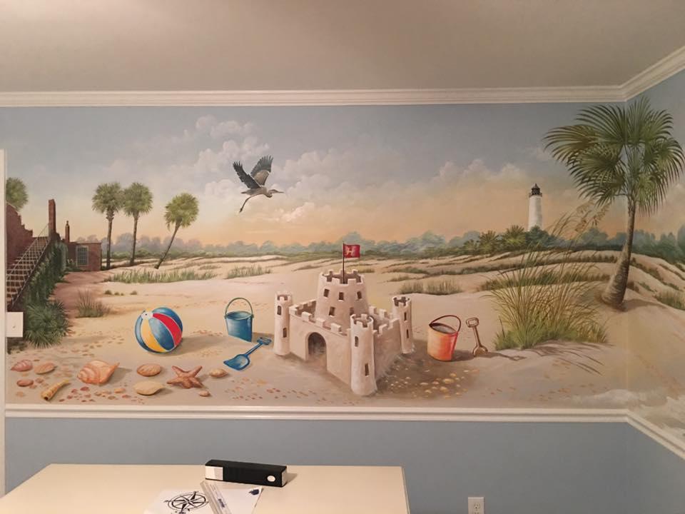 Nursery Room Mural View 2