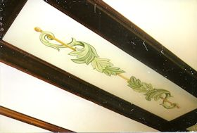 Painted Design in Ceiling